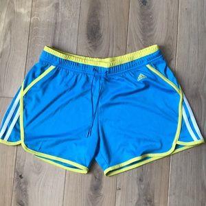 Adidas | Blue & Yellow Shorts